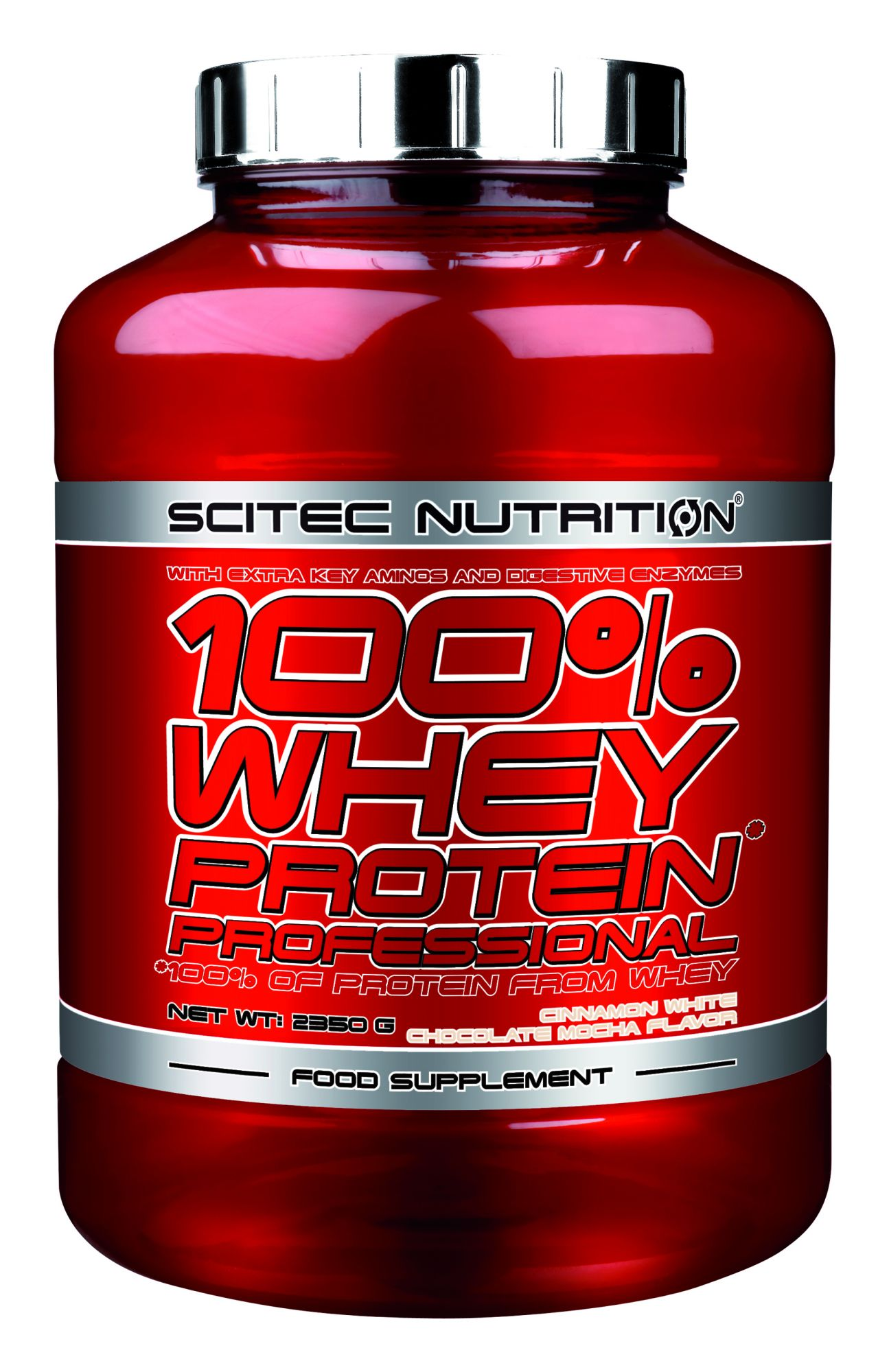 scitec 100 whey protein professional 2350g scitec nutrition. Black Bedroom Furniture Sets. Home Design Ideas