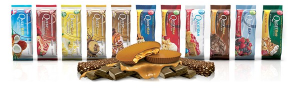 quest bar low carb riegel