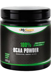 Mysupps 100% BCAA Powder - 300 g Dose - My Supps