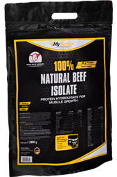 100% Natural Beef Isolate - 2 kg Beutel - My Supps