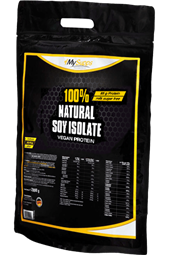 100% Natural Soy Isolate - 2 kg Beutel - My Supps