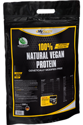100% Natural Vegan Protein - 2 kg Beutel - My Supps