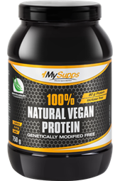100% Natural Vegan Protein - 750 g Dose - My Supps