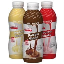 Protein Shake - 500 ml - PET Flasche Schoko - Best Body Nutrition®