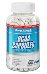 Body Attack BCAA Kapseln - 180 Caps - Body Attack Sports Nutrition®