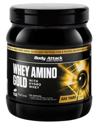 Body Attack Whey Amino Gold - 325 Tabletten - Body Attack Sports Nutrition