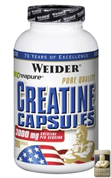 Weider Pure Creatine Caps - 200 Caps - WEIDER Germany