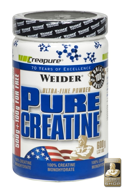 Weider Pure Creatine 600 G Dose Weider Germany