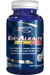 Kre-Alkalyn Nitro Pro -120 Super Caps - All-American EFX