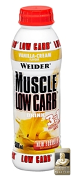Muscle Low Carb Protein Drink - 500 ml PET Flasche - WEIDER®