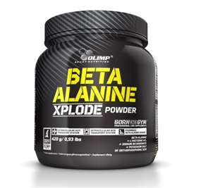 Beta Alanin Xplode - 420 g Dose - Orange - OLIMP® Sport Nutrition