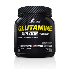 Olimp L-Glutamine Xplode Powder - 500 g Dose - OLIMP® Sport Nutrition
