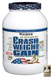 WEIDER Crash Weight Gain 1,5 kg Dose - WEIDER