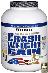 WEIDER Crash Weight Gain 3 kg Dose - WEIDER