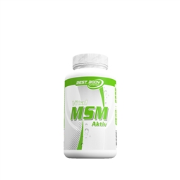 Vital MSM Active - 175 Tabs - Stoffwechselkur - Best Body Nutrition®