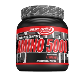 Best Body Nutrition Amino 5000 - 325 Tabs - Best Body Nutrition®