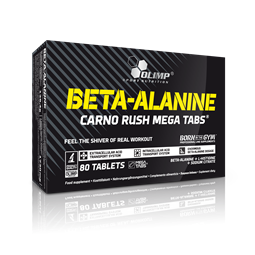 Olimp Beta Alanine Carno Rush - 80Caps - OLIMP Sport Nutrition