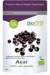 Biotona Acai 100% Raw Powder 200g - Biotona