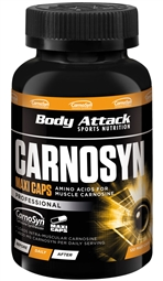 Body Attack Carnosyn Kapseln 120 Stück - Body Attack Sports Nutrition®