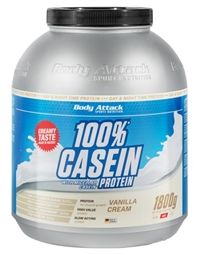 Body Attack 100% Casein Protein 1800g - Body Attack Sports Nutrition