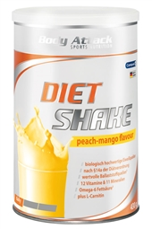Body Attack Diet Shake 430 g Dose - Body Attack Nutrition®