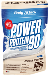 Body Attack Power Protein 90 - 500g - Body Attack Nutrition®