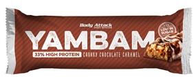 YamBam - Proteinriegel - 80 g Riegel - Body Attack Sports Nutrition®