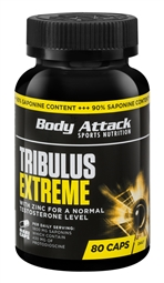 Body Attack Tribulus Extreme 80 Kapseln - Body Attack Sports Nutrition®