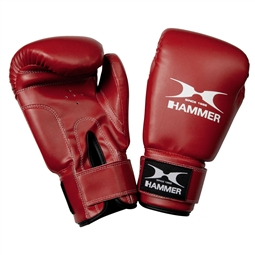 Boxhandschuhe Fit, PU rot - HAMMER Boxing