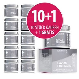 11 Stk Pure Woman Caviar Collagen Pulver 11 x 300g - Pure Woman