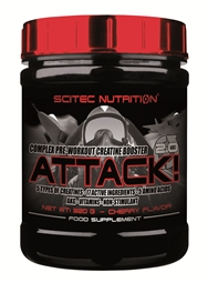 Attack 2.0 - Pre-Workout Booster - 320 g Dose - Scitec Nutrition®