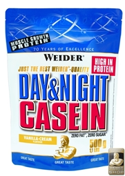 Weider Day & Night Casein 500 g Standbeutel - WEIDER