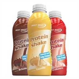 Protein Shake - 500 ml - PET Flasche - Best Body Nutrition®