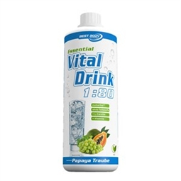 Essential Vital Drink - 1 l Flasche - Best Body Nutrition®