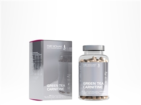 Green Tea - Carnitine - 90 Kapseln - Pure Woman®