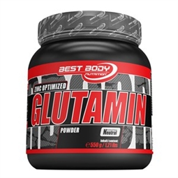 Glutamin Powder - 550 g Dose - Best Body Nutrition®