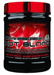Hot Blood 3.0 Booster - 300 g Dose - Scitec Nutrition®