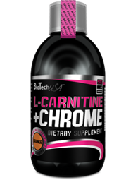 L-Carnitin 35.000 mg + Chrom - 500 ml Flasche - BIOTECH USA