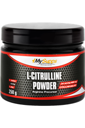 L-Citrulline Powder - 250 g Dose - My Supps