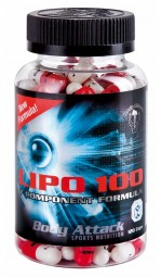LIPO 100 Fatburner - 120 Caps - Body Attack Sports Nutrition®
