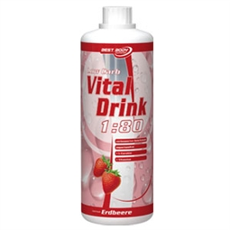 Low Carb Vital Drink - 1 Liter Flasche - Best Body Nutrition®