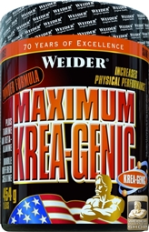WEIDER Maximum Krea-Genic Powder 554 g - WEIDER®