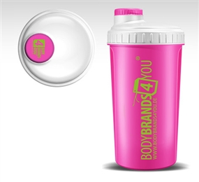 Lady Protein Shaker pink - bodybrands4you - bodybrands4you