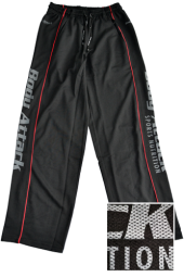 Meshpants schwarz Body Attack Nutrition®