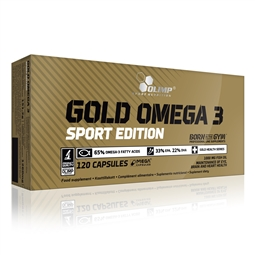 Olimp Omega 3 Sport Edition - 120 Caps - OLIMP® Sport Nutrition