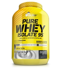 Olimp Pure Whey Isolate 95 2200g Vanille - OLIMP® Sport Nutrition