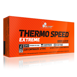 Thermo Speed Extreme Mega Caps - 120 Caps - OLIMP® Sport Nutrition