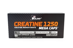Creatine Mega Caps 1250 - 120 Caps - OLIMP® Sport Nutrition