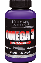Ultimate Omega 3 - 180 Caps - Ultimate Nutrition®