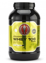 Powerman Whey 106 ISO25 + Enzymes - 2,3 kg Dose - PowerMan®